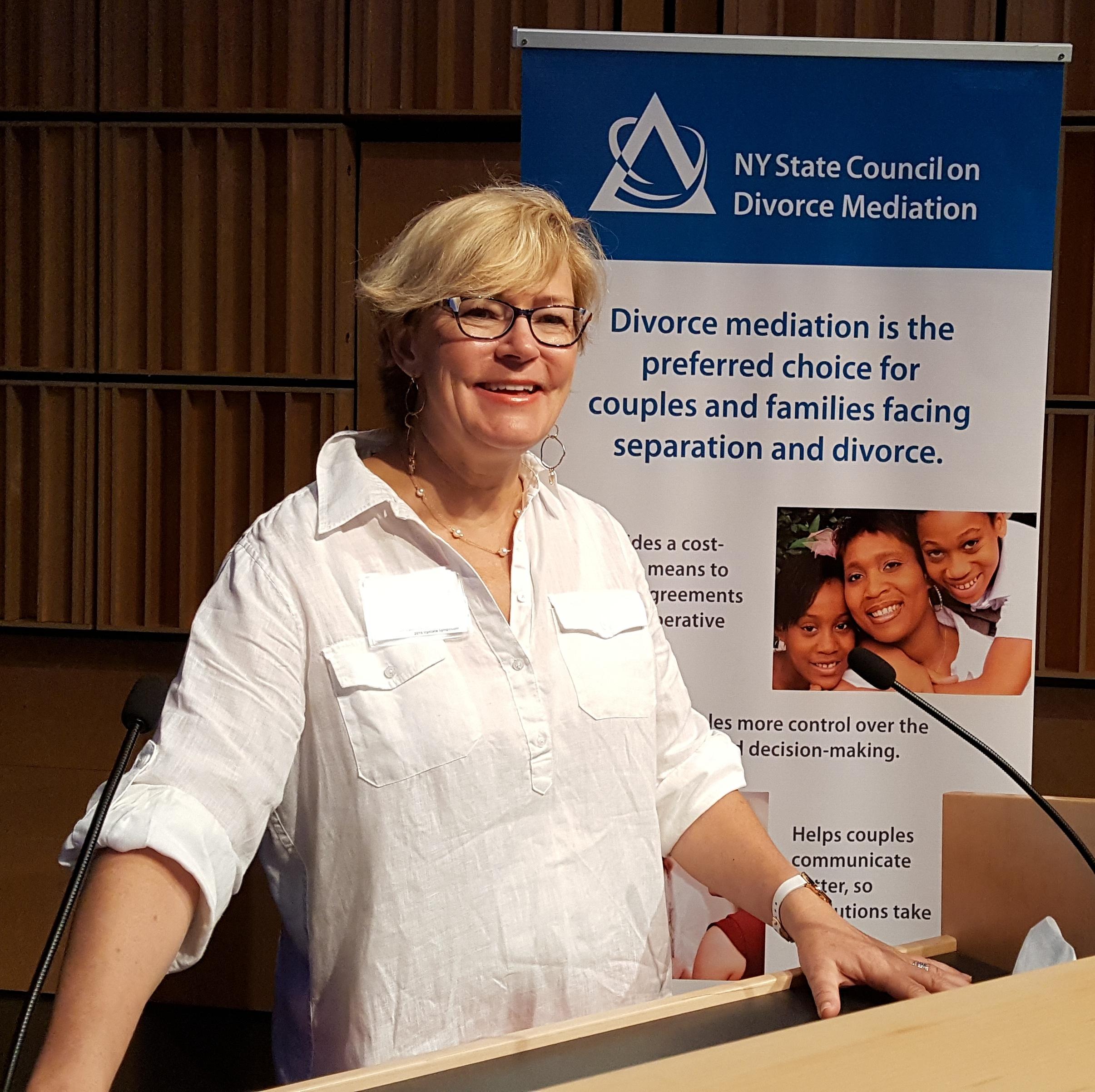 Trish Blake-Jones opens Downstate Symposium
